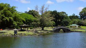 Liliouokalani Gardens on Bayan Drive