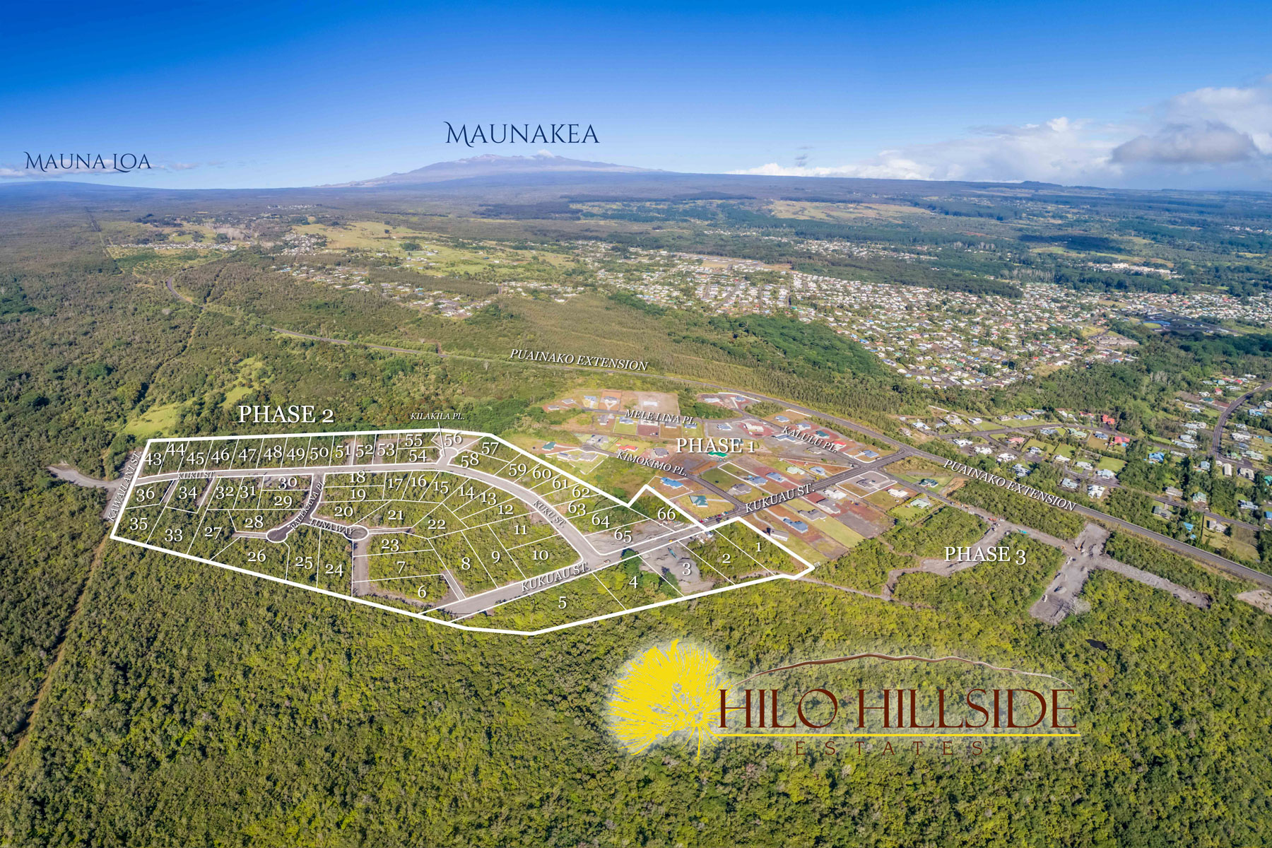 Hilo Hillside Phase 2 11 With Numbers
