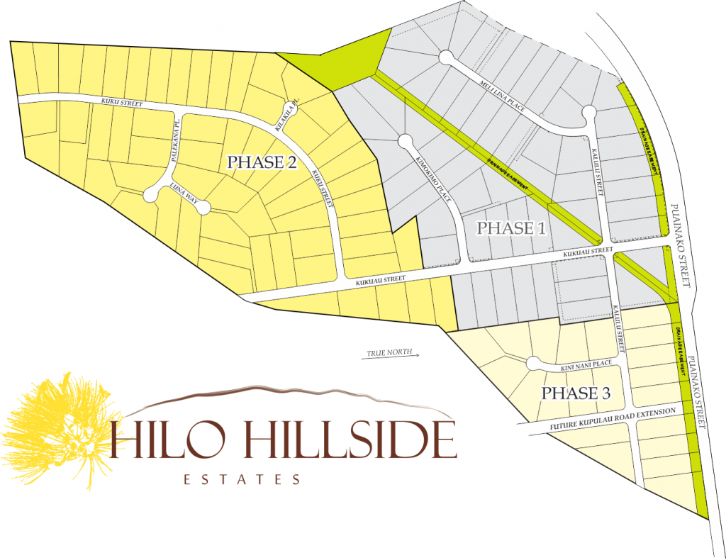Hilo Hillside Estate All Phases